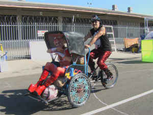 Burning Man Pedicab - $450 (Hollywood)
