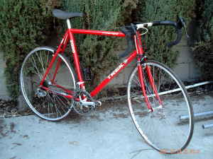 TREK 2000  ALL-ALUMINUM ROAD BIKE - $600 (SAN FERNANDO VALLEY)