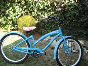 Nirve Paul Frank: Blue/Pink Julius and Friends Beach Cruiser for sale - $275 (Mar Vista)