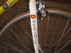yellow road bike - $220 (la)