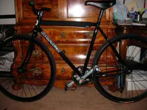 53cm Jury Frame and Fork - $200 (Downey)