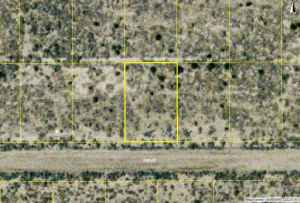 $17000 9000sf  lot (California City) (map)